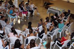 Jóvenes asistentes al encuentro Vivir la ciudad desde la cultura