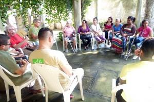 Taller sobre Violencia intrafamiliar, en Pedro Betancourt