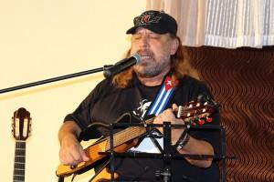 El cantautor Frank Delgado en el CCRD-C