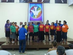 Coro de la II Iglesia Bautista de Cárdenas, dirigido por el Pastor Samuel Hernández