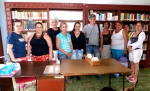 El CCCRD-Cuba en la comunidad de Pedro Betancourt