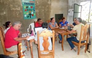 Acompañamiento comunitario CCRD-C, Jagüey Grande