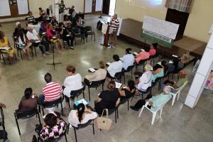 Encuentro de articulación de actores y líderes comunitarios, en el CCRD-C