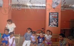 Primer taller por la psicoeducación de hábitos no violentos para niños