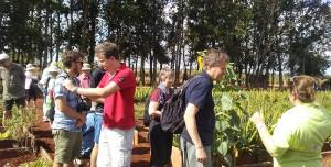 Visitantes en la Finca El Retiro del CCRD-C