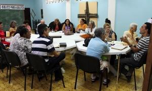 Curso bíblico para adultos en el CID del CCRD-C