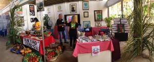 El CCRD-C en ExpoCuba durante la exposición provincial Sobre mi pecho, Matanzas