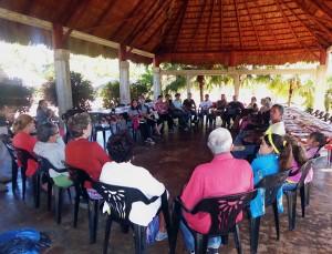 Encuentro de la II Iglesia Bautista de Cárdenas en la finca El Retiro
