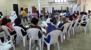 Taller para mujeres emprendedoras Gerencia de sí misma, en el CCRD-C