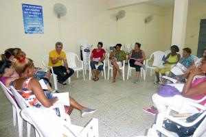 Encuentro del Proyecto Red profesionales en primera línea, en Jovellanos
