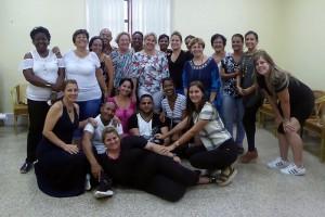 Participantes en el taller de intercambio de experiencias