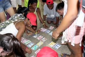 Campamento de verano para adolescentes y jóvenes.