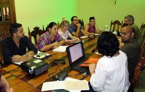 Representantes de copartes de Diakonía en Cuba
