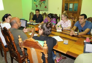 Representantes de copartes de Diakonía, reunidos en el CCRD-C