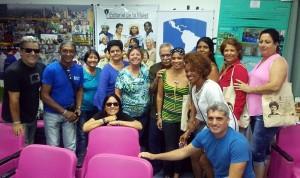 Desarrollo, equidad y justicia social. A la izquierda Julio C. González Pagés, Oficial Nacional de Programas de la agencia COSUDE