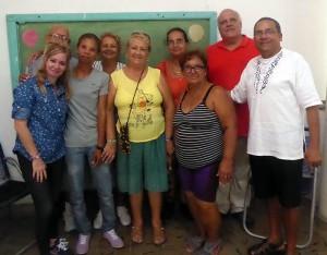 Grupo de líderes en Caibarién