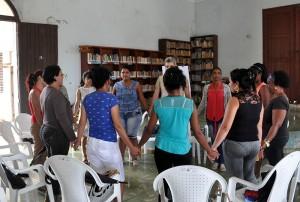 Tercer encuentro de la Red de profesionales en primera línea, comunidad Pedro Betancourt