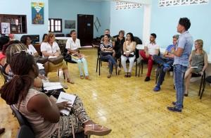 Taller para líderes comunitarios y profesionales de Cárdenas en el CCRD-C