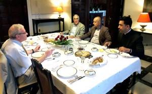 Desayuno en residencia francesa