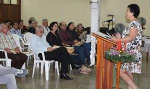 Directora Ejecutiva del CCRD-C, Lic. Rita M. García Morris desea una feliz Navidad y próspero año nuevo a los trabajadores
