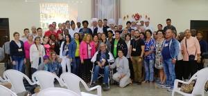 Grupo participante al Evento anual de emprendedores