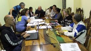 El equipo de trabajo del CCRD-C labora de conjunto