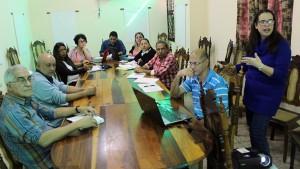 El equipo de trabajo del CCRD-C debate sobre los nuevos proyectos