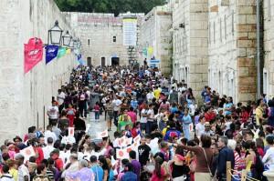 Público asistente a la Feria Internacional del Libro. La Habana 2019