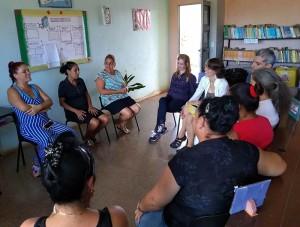 Encuentro con profesoras de la comunidad Merceditas