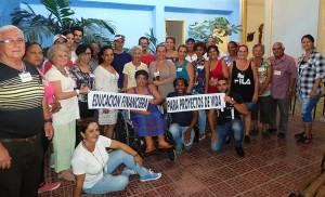 Artesanos y vinicultores de Santa Clara, Taller Educación Financiera