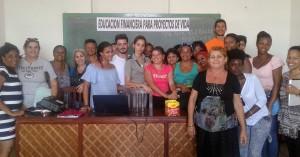 Participantes al taller