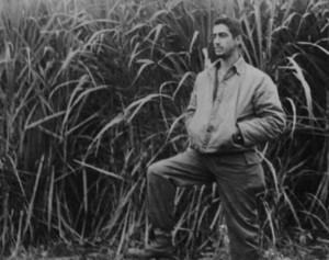El Rev. Raimundo García Franco en las UMAP (en un campo de caña)