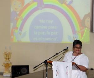 Devocional dedicado a la Paz. Isis Ruiz Hernández, especialista del CCRD-C