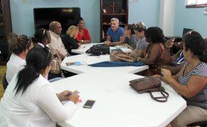 Reunión con actores comunitarios y decisores locales