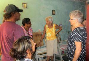 Visita de amigos canadienses y norteamericanos a beneficiarios de la Pastoral para la atención a personas con necesidades especiales