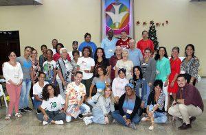 Participantes al evento Liderazgo en el trabajo con adolescentes y jóvenes