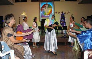 Concierto por Navidad. Grupo danzario de la Iglesia Pentecostal Bethel