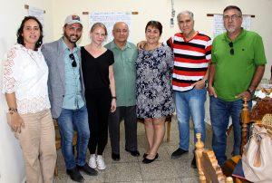 Directivos del CCRD-C y del proyecto Afroatenas, junto a las representantes de la Embaja de la República Checa en Cuba