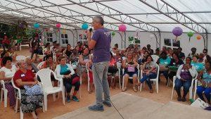 Encuentro sobre la violencia de género en las familias
